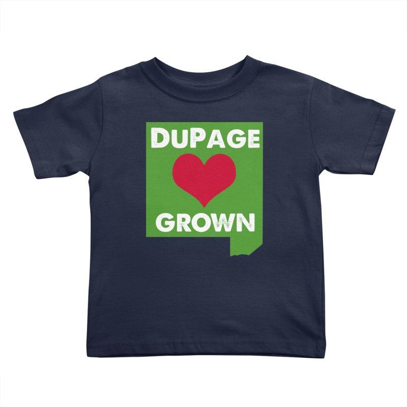 DuPageGrown Kids Toddler T-Shirt by Sustain DuPage's Artist Shop