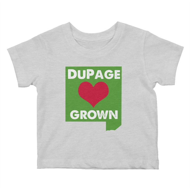 DuPageGrown Kids Baby T-Shirt by Sustain DuPage's Artist Shop
