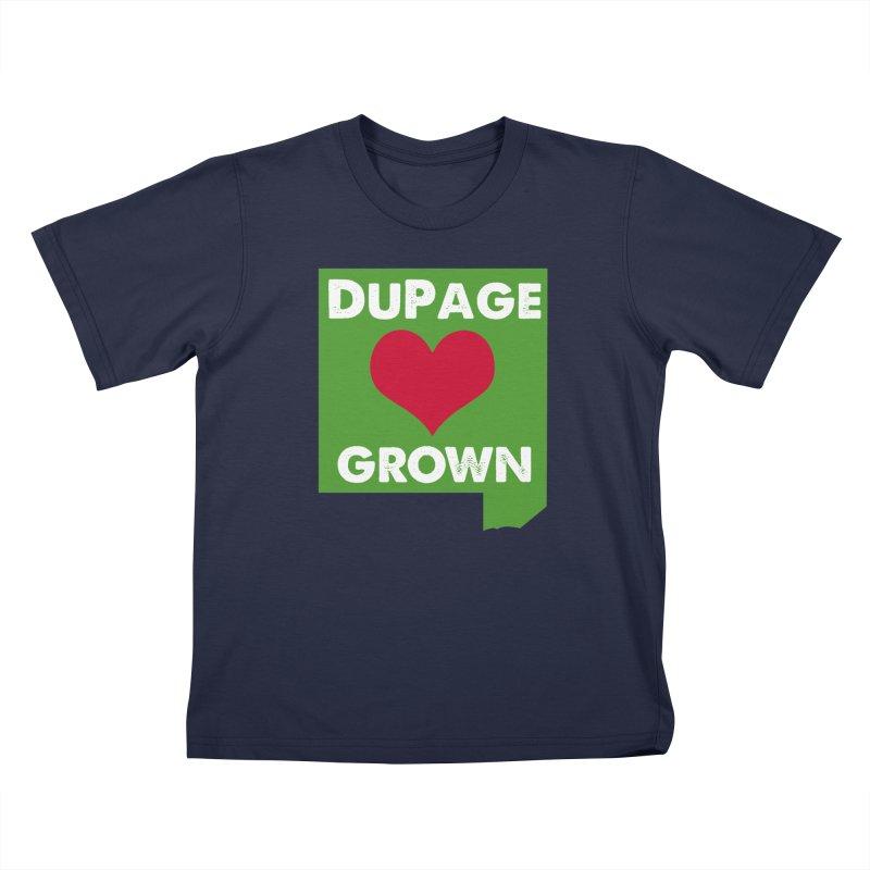 DuPageGrown Kids T-Shirt by Sustain DuPage's Artist Shop