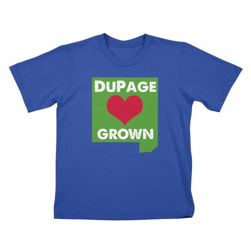 DuPageGrown Kids T-Shirt by Sustain DuPage's Artist Shop