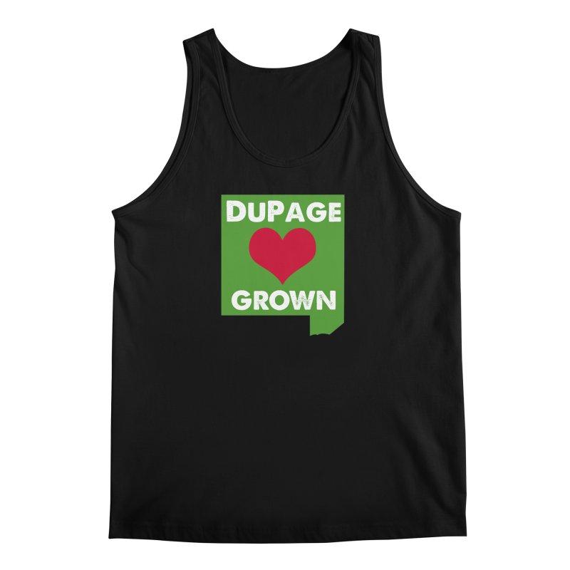 DuPageGrown Men's Regular Tank by Sustain DuPage's Artist Shop