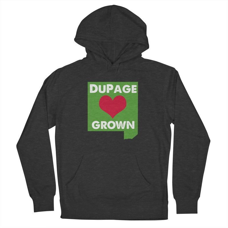 DuPageGrown Men's French Terry Pullover Hoody by Sustain DuPage's Artist Shop