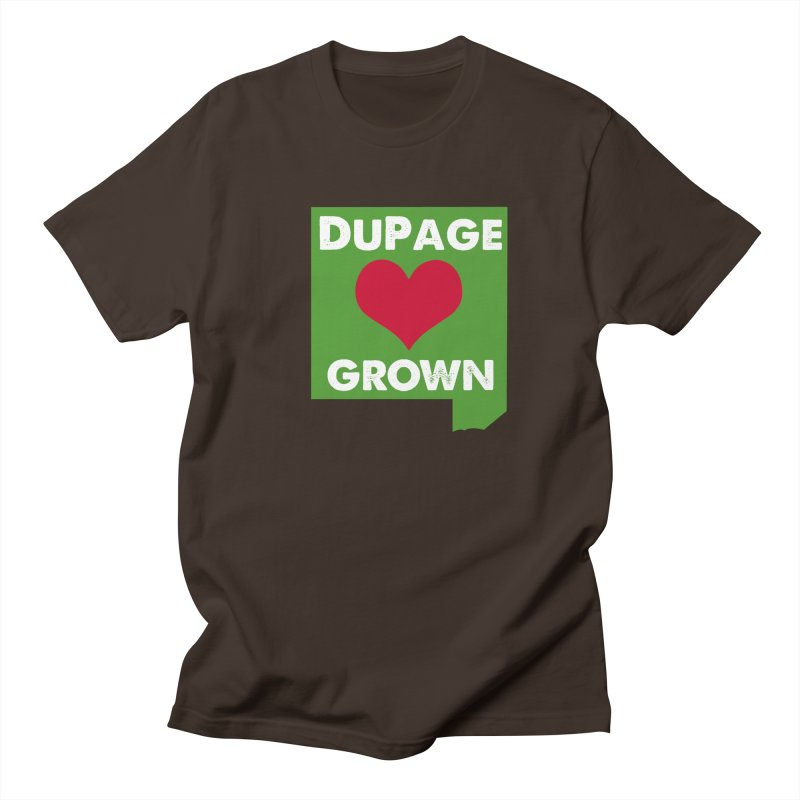 DuPageGrown Men's Regular T-Shirt by Sustain DuPage's Artist Shop