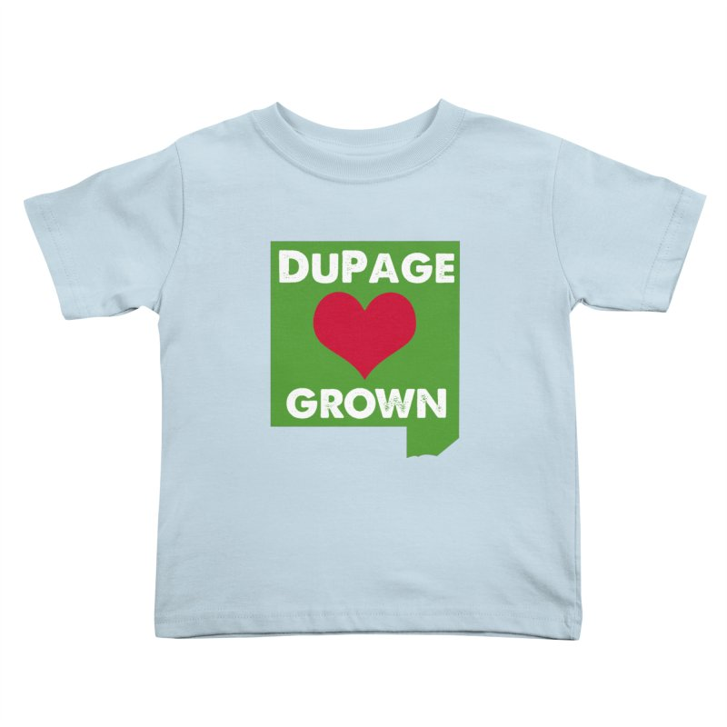 DuPageGrown Kids Toddler T-Shirt by Sustain DuPage's Artist Shop