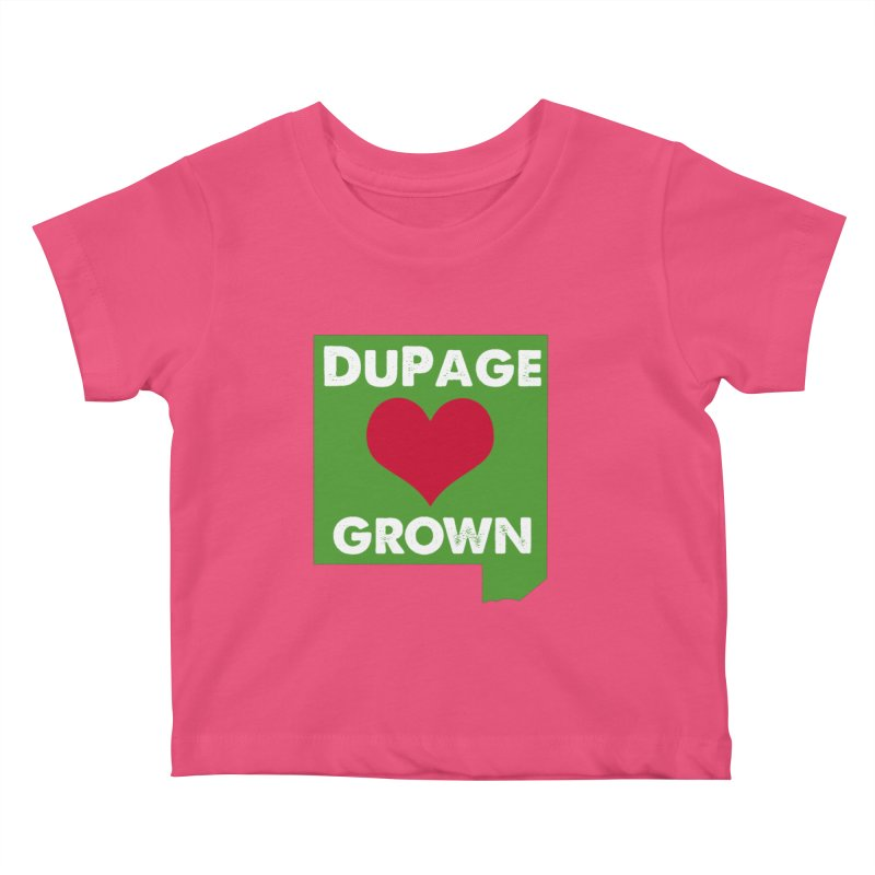 DuPageGrown Kids Baby T-Shirt by Sustain DuPage's Artist Shop