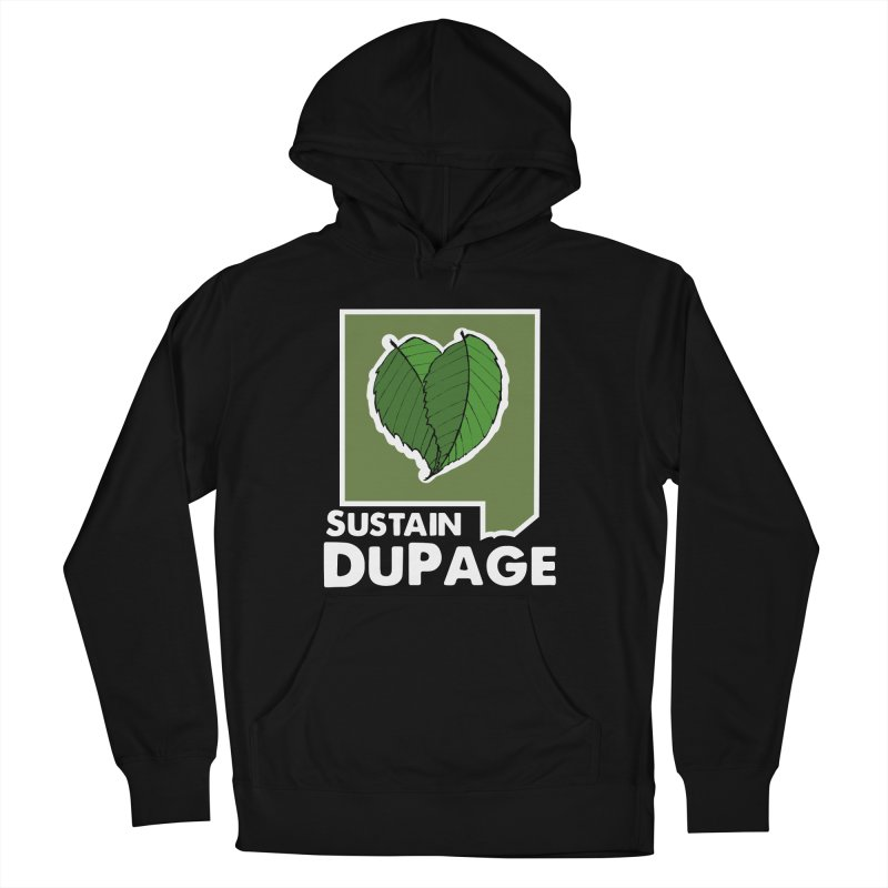 SD Logo Women's French Terry Pullover Hoody by Sustain DuPage's Artist Shop