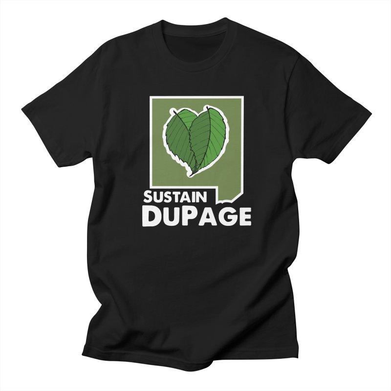 SD Logo Men's Regular T-Shirt by Sustain DuPage's Artist Shop