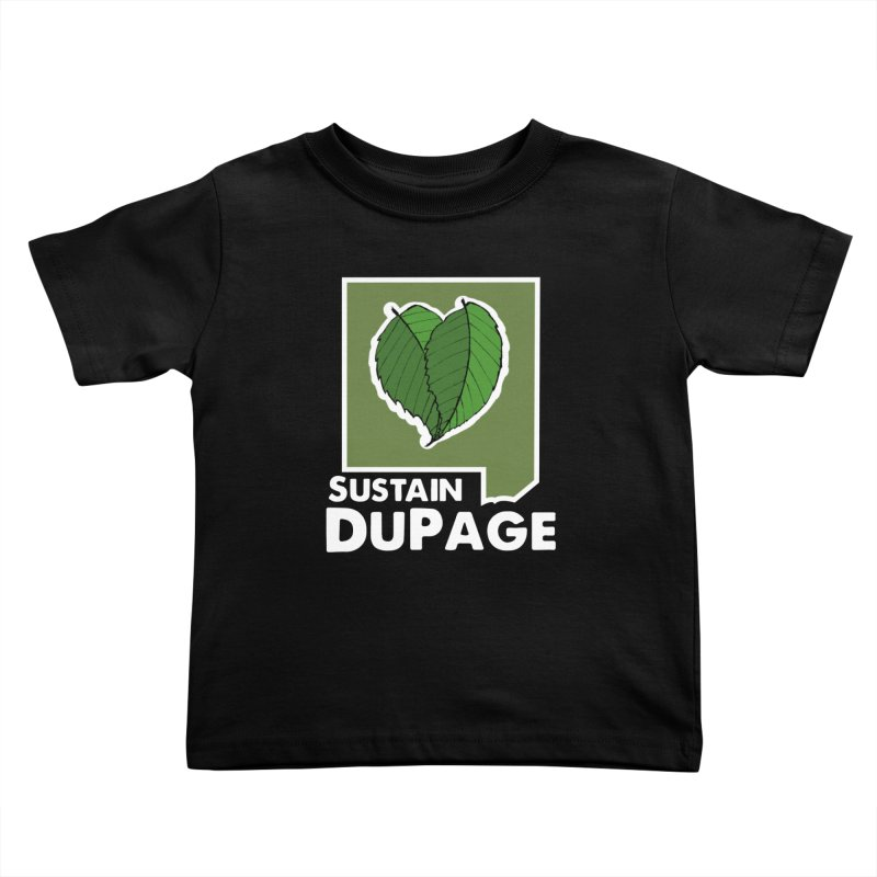 SD Logo Kids Toddler T-Shirt by Sustain DuPage's Artist Shop