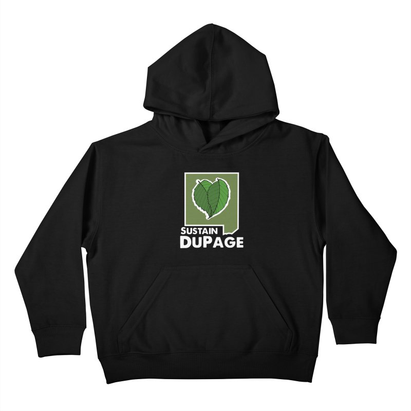 SD Logo Kids Pullover Hoody by Sustain DuPage's Artist Shop