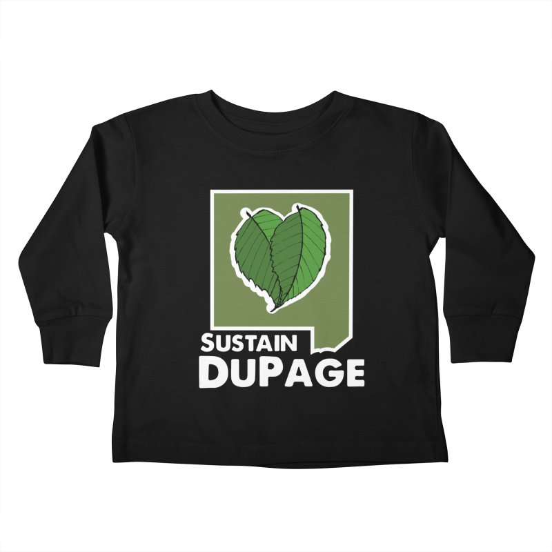 SD Logo Kids Toddler Longsleeve T-Shirt by Sustain DuPage's Artist Shop