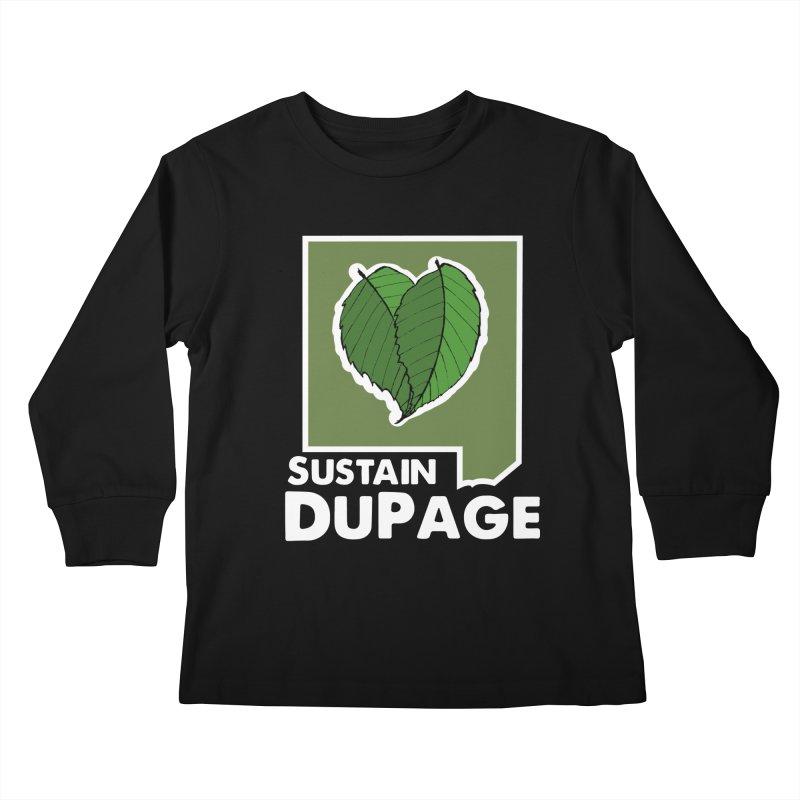 SD Logo Kids Longsleeve T-Shirt by Sustain DuPage's Artist Shop