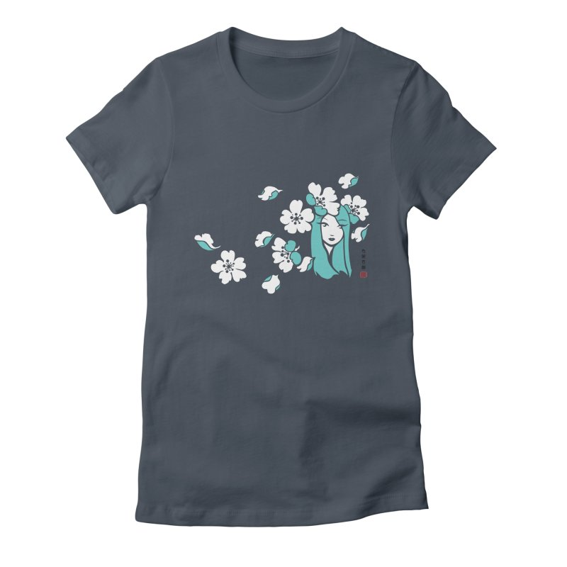 Sakura Girl Women's T-Shirt by No Porridge No Rice