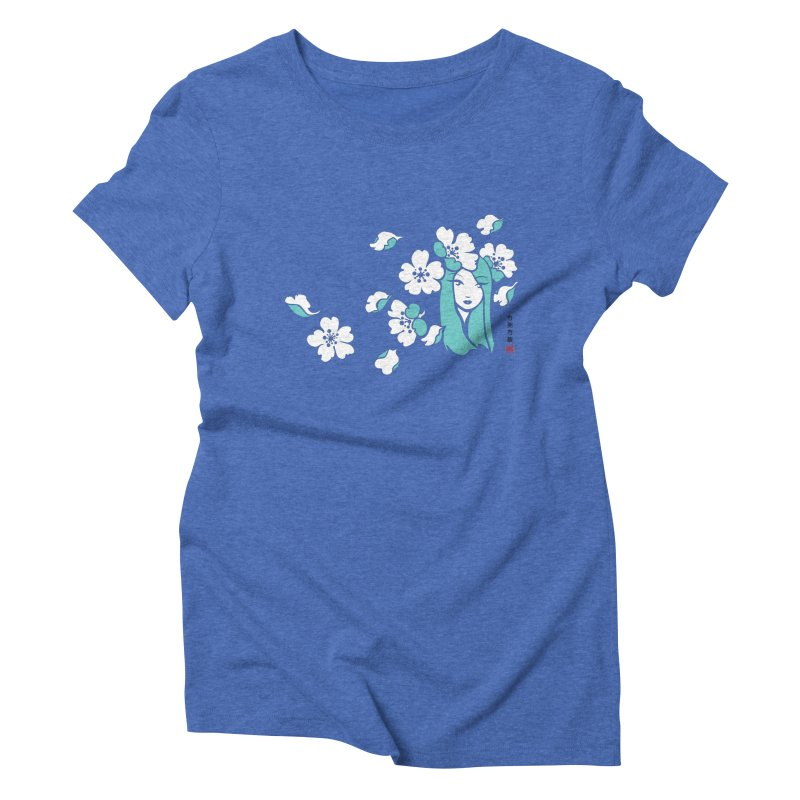 Sakura Girl Women's Triblend T-Shirt by No Porridge No Rice