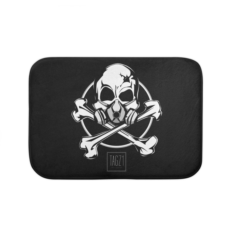 TAGZ1 Skull Logo Home Bath Mat by TAGZ1