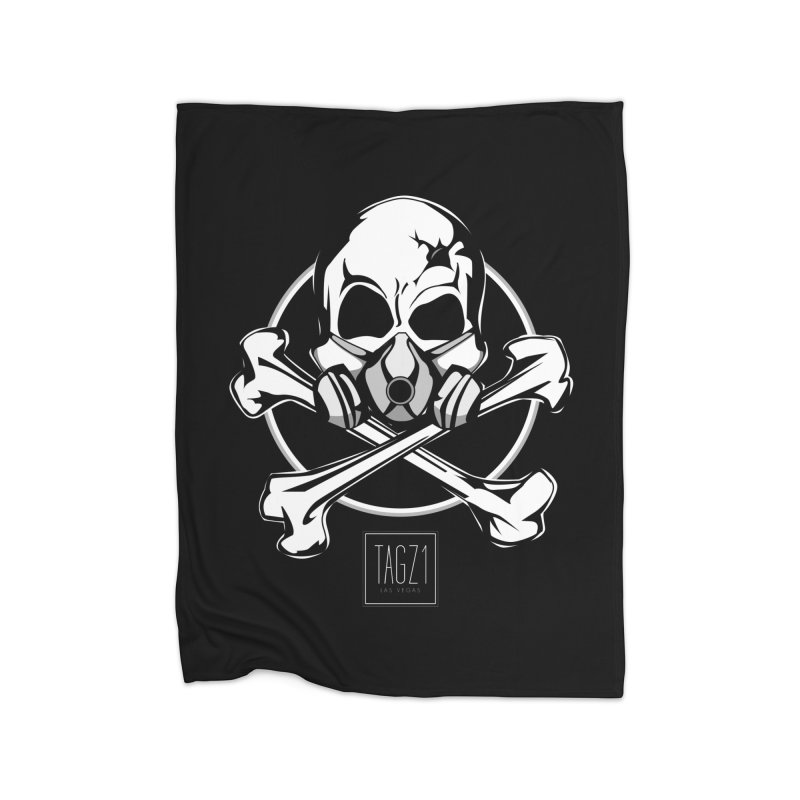 TAGZ1 Skull Logo Home Fleece Blanket Blanket by TAGZ1