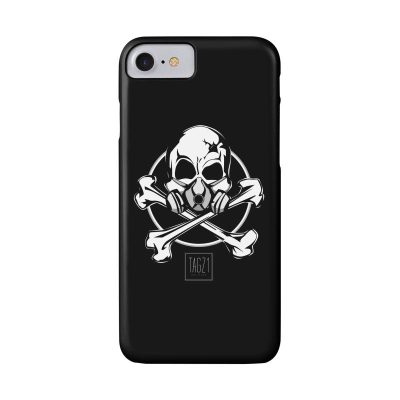 TAGZ1 Skull Logo Accessories Phone Case by TAGZ1