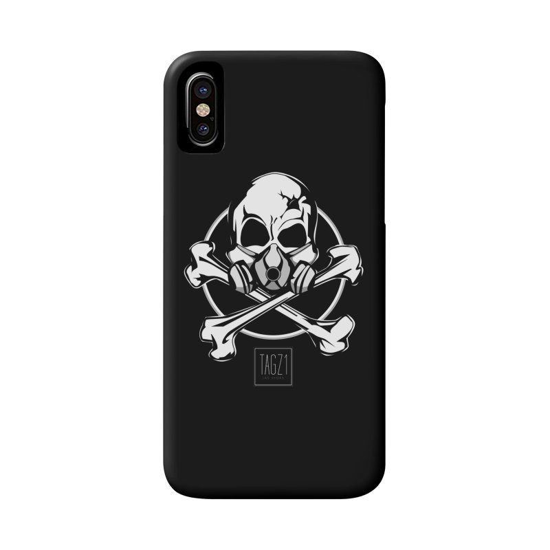 TAGZ1 Skull Logo Accessories Phone Case by TAGZ1