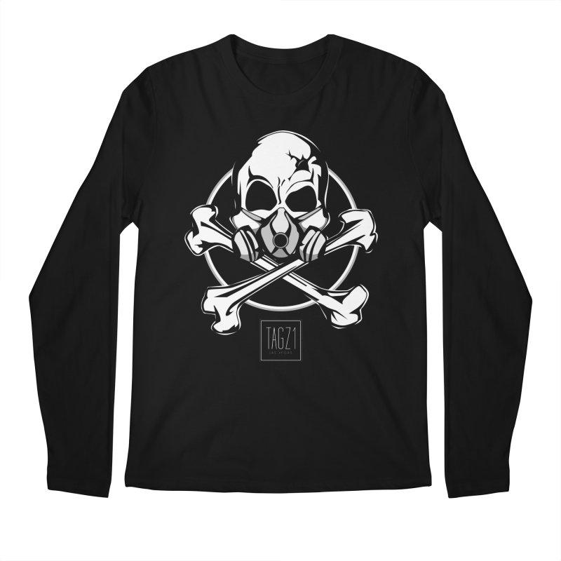 TAGZ1 Skull Logo Men's Longsleeve T-Shirt by TAGZ1