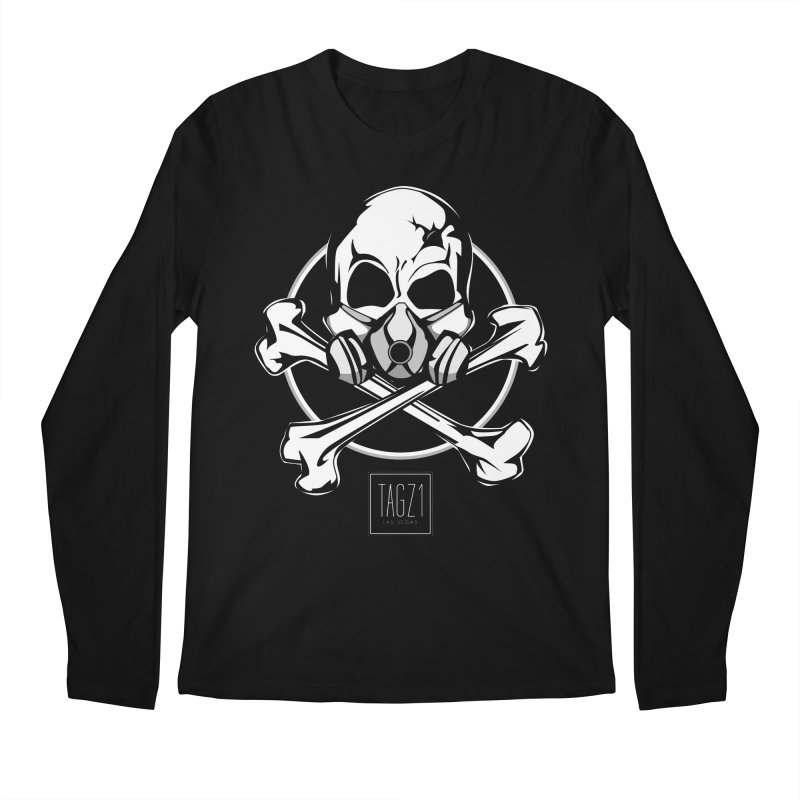 TAGZ1 Skull Logo Men's Regular Longsleeve T-Shirt by TAGZ1
