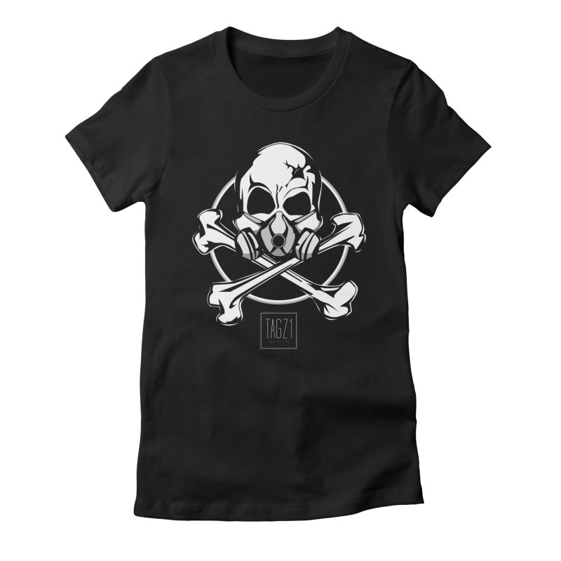TAGZ1 Skull Logo Women's T-Shirt by TAGZ1