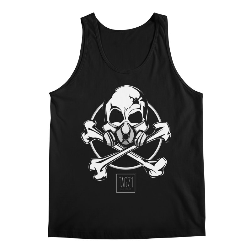 TAGZ1 Skull Logo Men's Regular Tank by TAGZ1