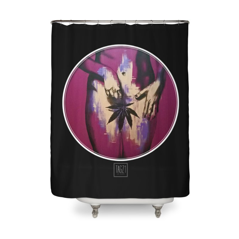 Sweet Leaf Home Shower Curtain by TAGZ1