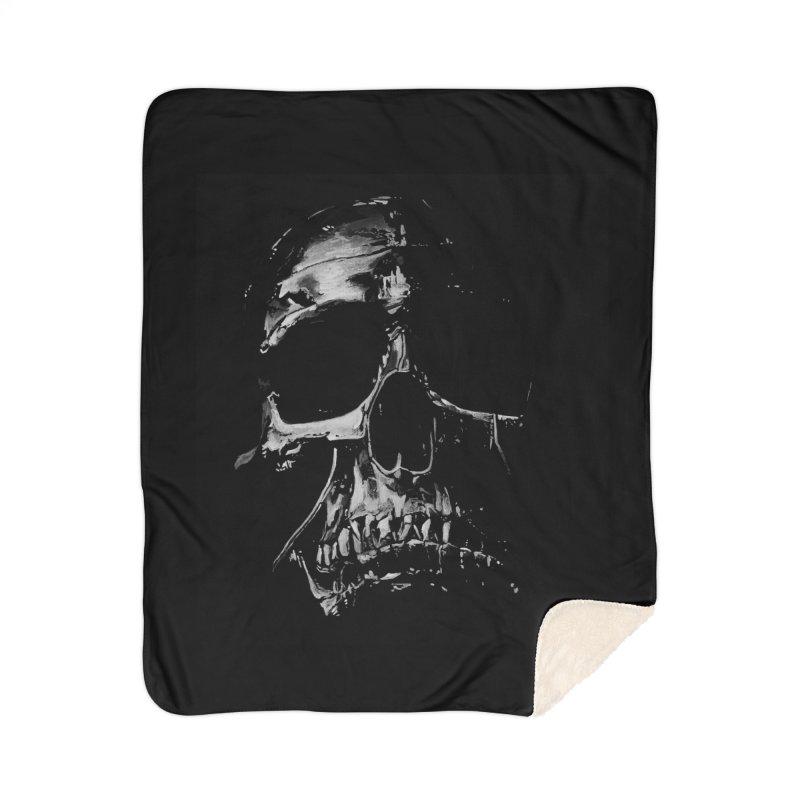 METAL \m/ Home Sherpa Blanket Blanket by TAGZ1