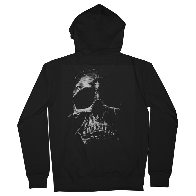 METAL \m/ Men's French Terry Zip-Up Hoody by TAGZ1