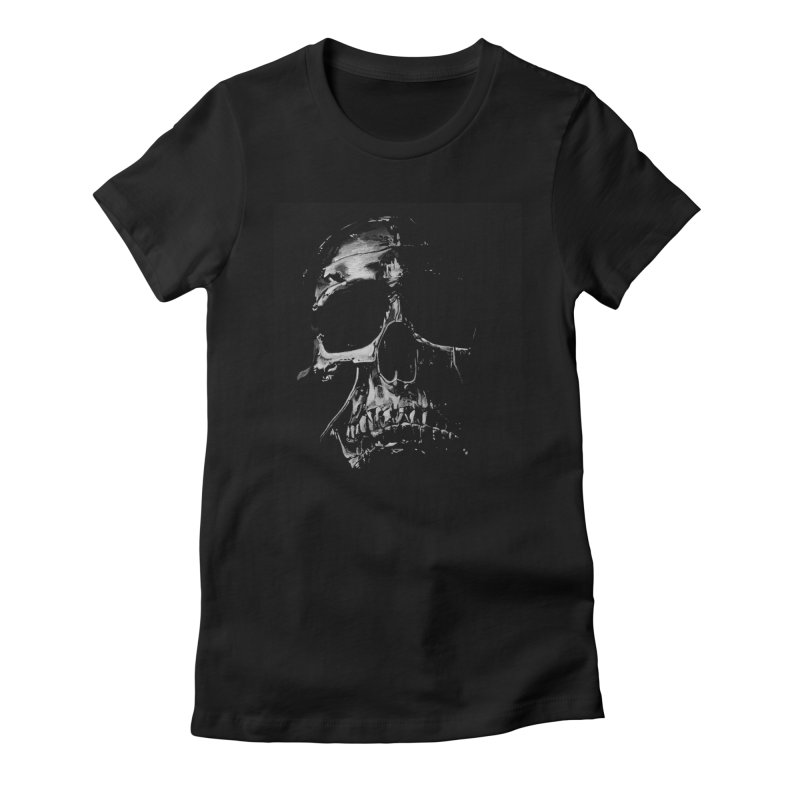 METAL \m/ Women's Fitted T-Shirt by TAGZ1