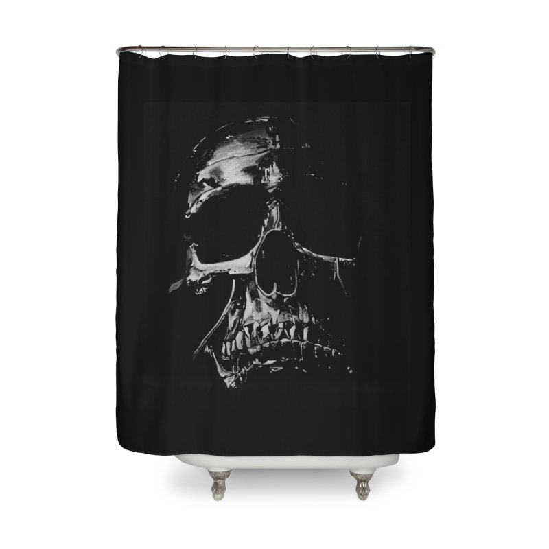 METAL \m/ Home Shower Curtain by TAGZ1