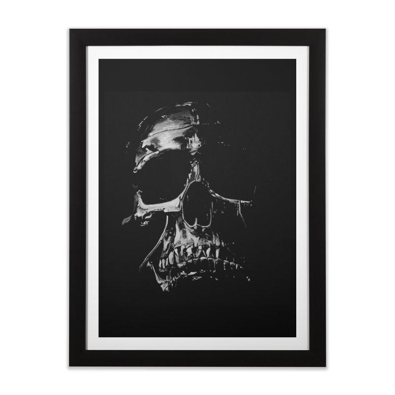 METAL \m/ Home Framed Fine Art Print by TAGZ1
