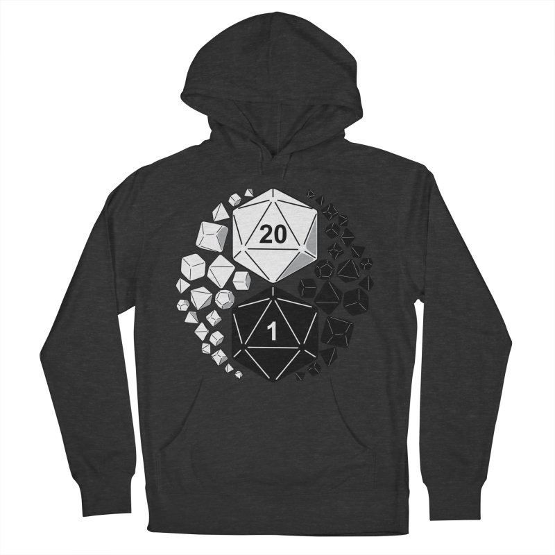 Gaming Yin Yang Men's Pullover Hoody by TCarver T-shirt Designs