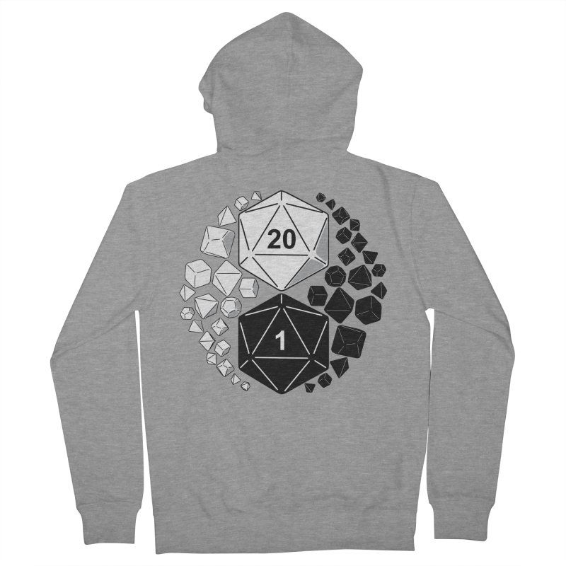 Gaming Yin Yang Women's Zip-Up Hoody by TCarver T-shirt Designs