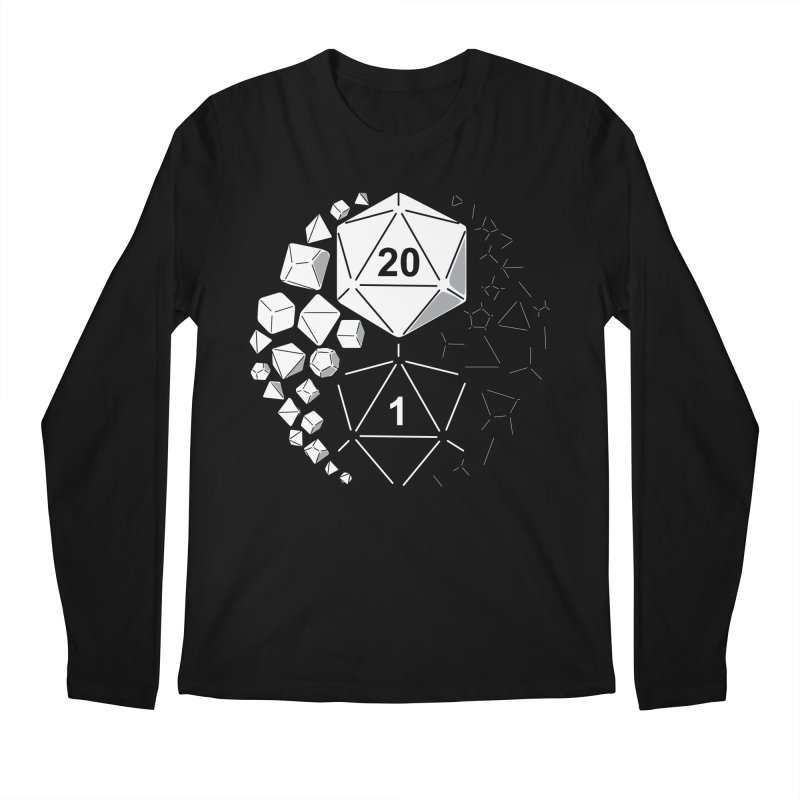 Gaming Yin Yang Men's Longsleeve T-Shirt by TCarver T-shirt Designs