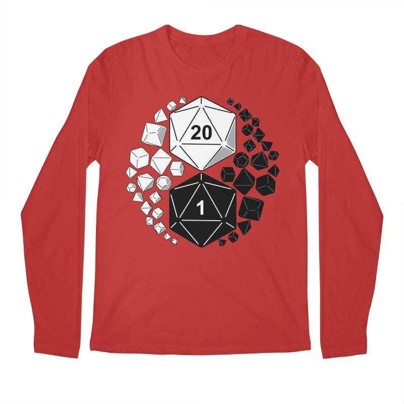 Gaming Yin Yang Men's Longsleeve T-Shirt by TCarver T-shirt Designs