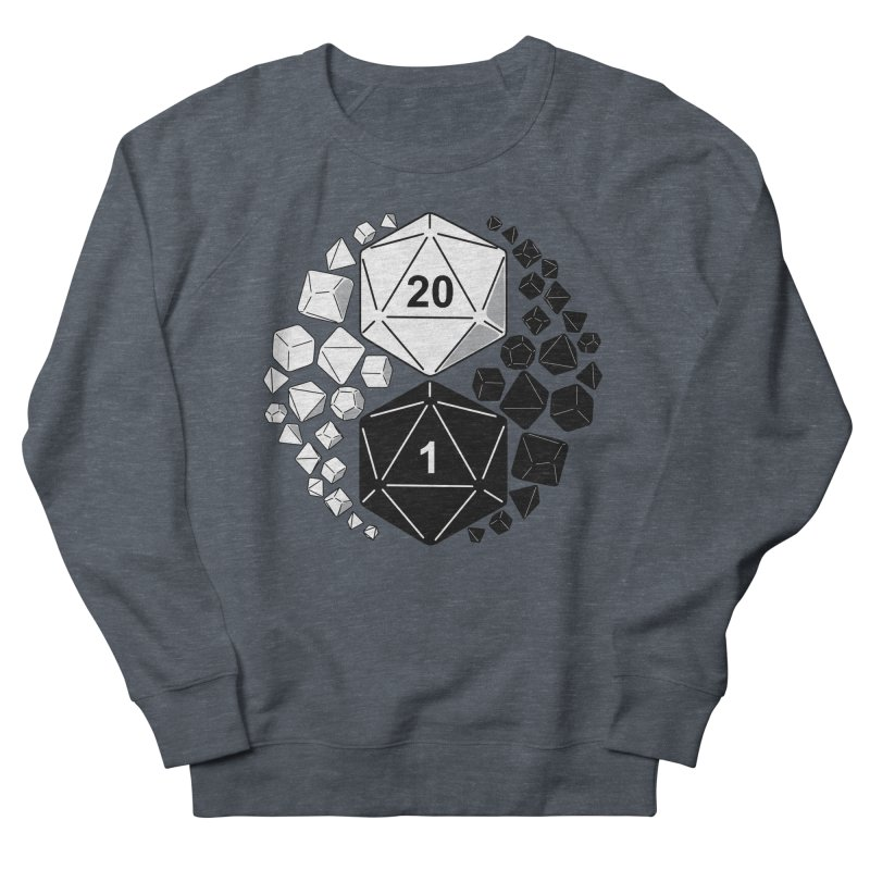 Gaming Yin Yang Men's Sweatshirt by TCarver T-shirt Designs