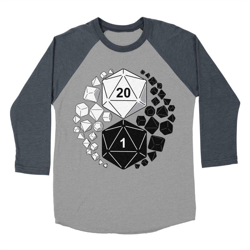 Gaming Yin Yang Women's Baseball Triblend T-Shirt by TCarver T-shirt Designs