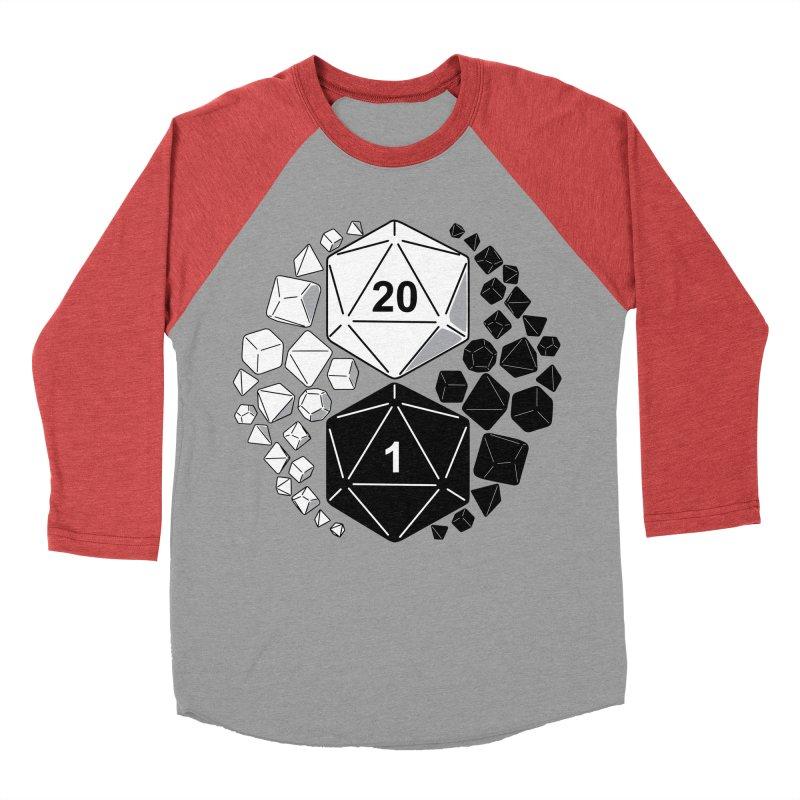 Gaming Yin Yang Men's Baseball Triblend T-Shirt by TCarver T-shirt Designs