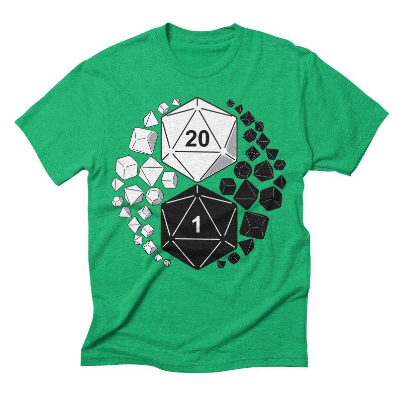 Gaming Yin Yang Men's Triblend T-shirt by TCarver T-shirt Designs