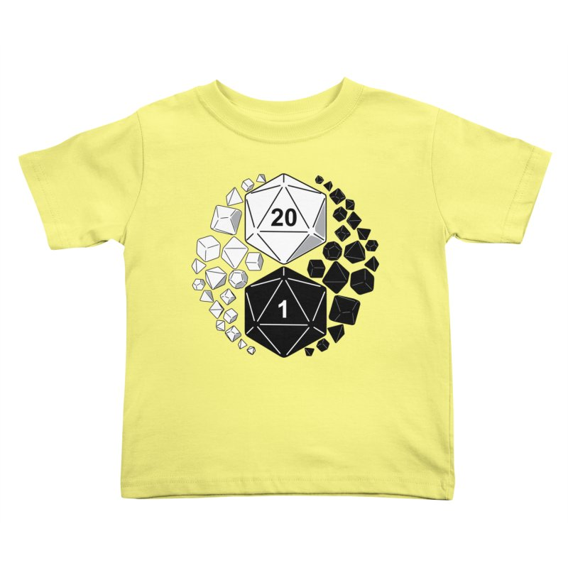 Gaming Yin Yang Kids Toddler T-Shirt by TCarver T-shirt Designs