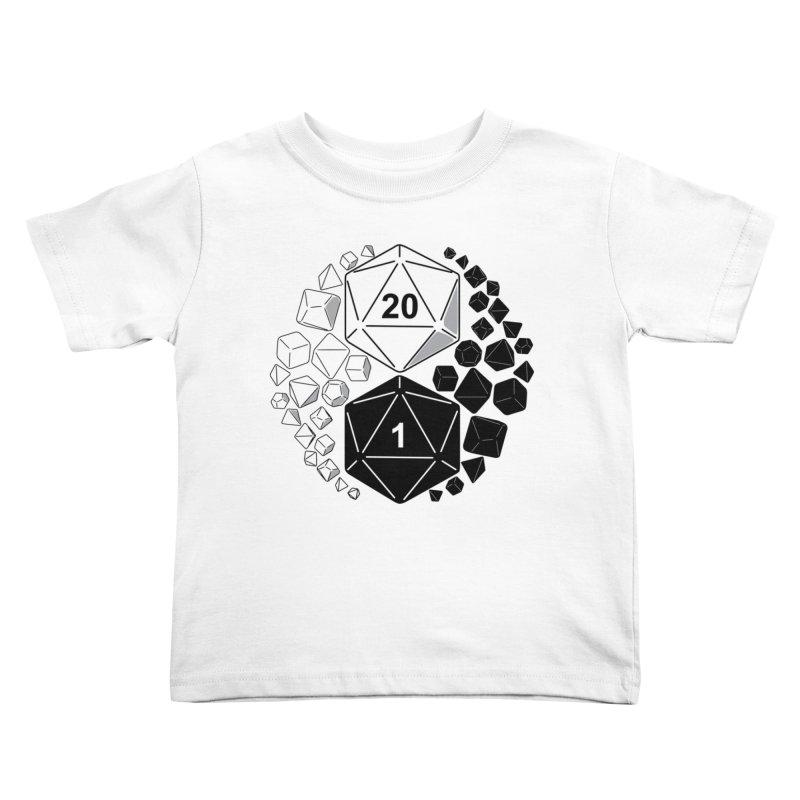 Gaming Yin Yang Kids Toddler T-Shirt by TCarver T-shirt Designs