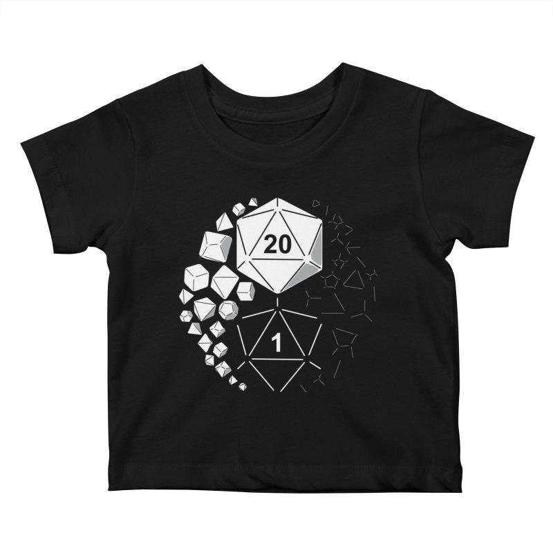 Gaming Yin Yang Kids Baby T-Shirt by TCarver T-shirt Designs