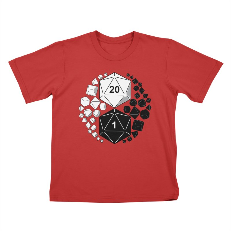 Gaming Yin Yang Kids T-Shirt by TCarver T-shirt Designs