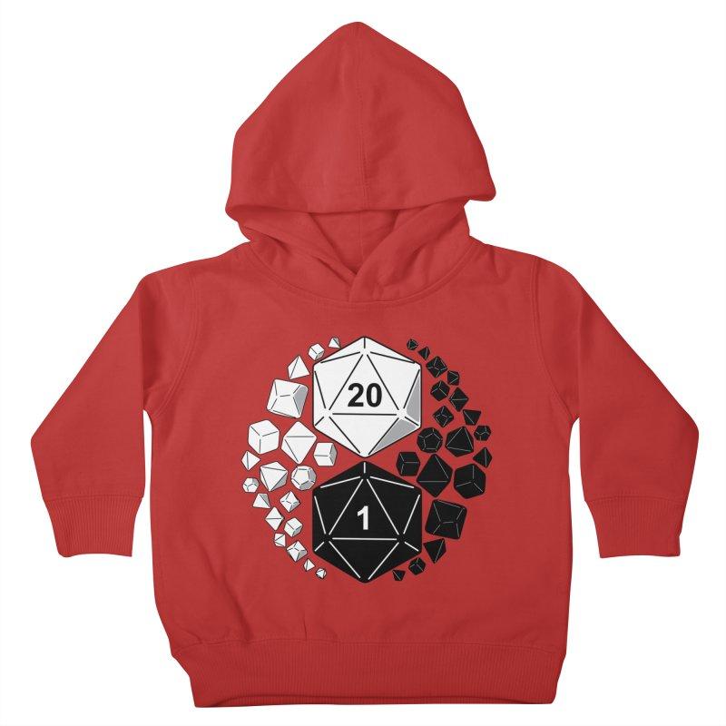 Gaming Yin Yang Kids Toddler Pullover Hoody by TCarver T-shirt Designs