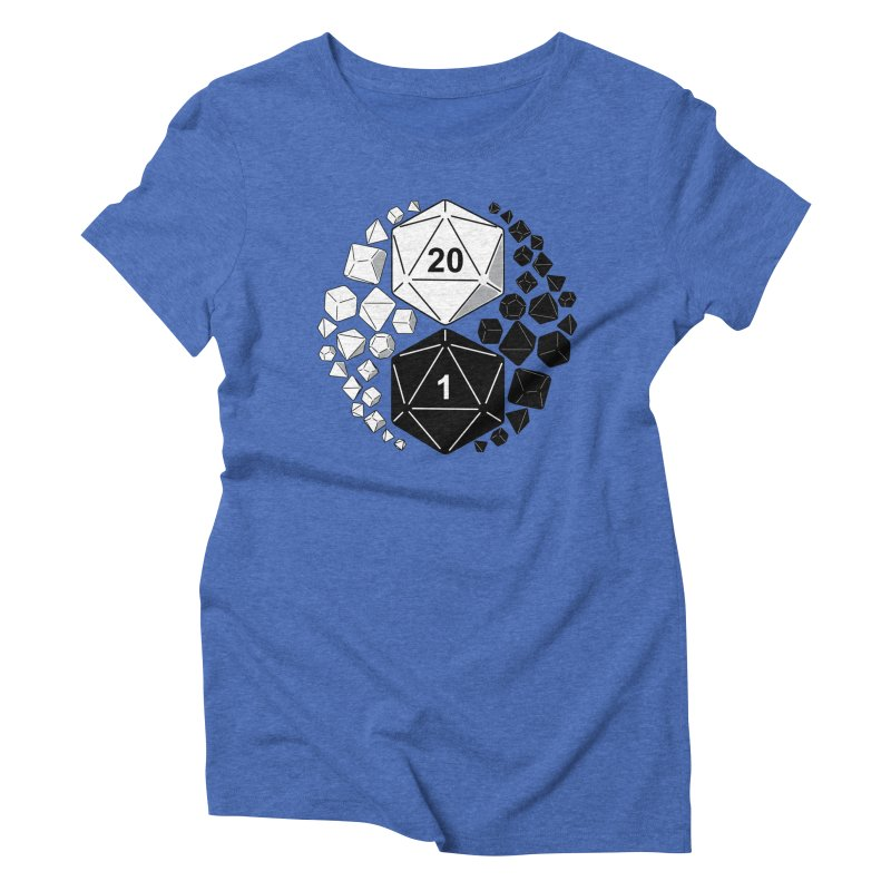 Gaming Yin Yang Women's Triblend T-shirt by TCarver T-shirt Designs