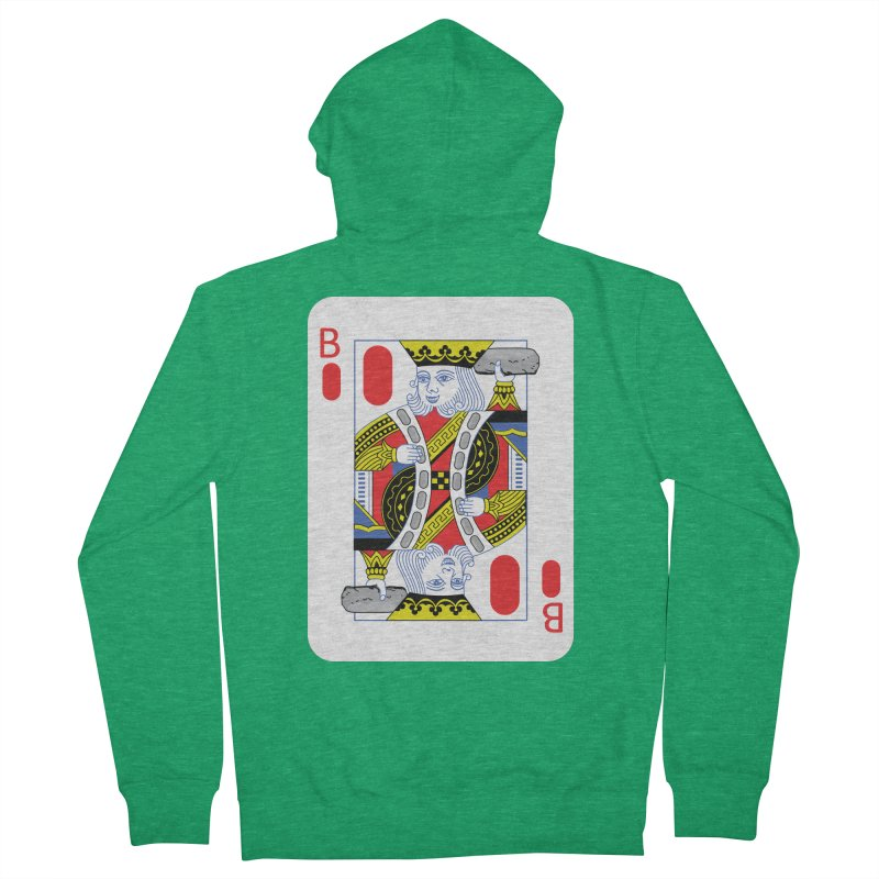 King of Burritos Women's Zip-Up Hoody by TCarver T-shirt Designs