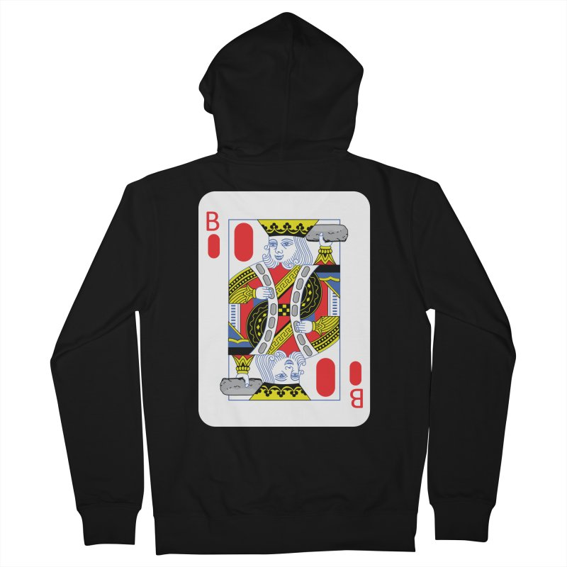King of Burritos Men's Zip-Up Hoody by TCarver T-shirt Designs
