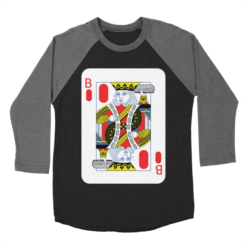 King of Burritos Men's Baseball Triblend T-Shirt by TCarver T-shirt Designs