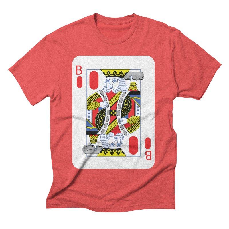 King of Burritos Men's Triblend T-shirt by TCarver T-shirt Designs