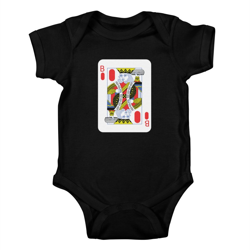 King of Burritos Kids Baby Bodysuit by TCarver T-shirt Designs
